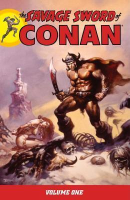 The Savage Sword of Conan, Volume 1 by Tim Conrad, Barry Windsor-Smith, Gil Kane, Alex Niño, Joss Jodloman, Pablo Marcos, John Buscema, Jim Starlin, Roy Thomas, Tony DeZúñiga