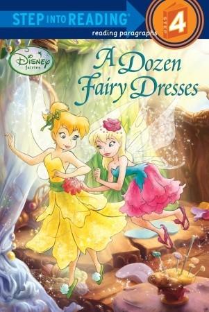 A Dozen Fairy Dresses (Disney Fairies) by Walt Disney Company, Tennant Redbank