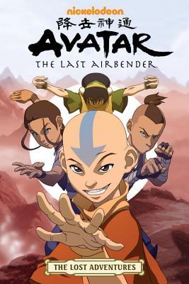 Avatar: The Last Airbender: The Lost Adventures by Tim Hedrick, Dave Roman, Aaron Ehasz, Josh Hamilton, J. Torres