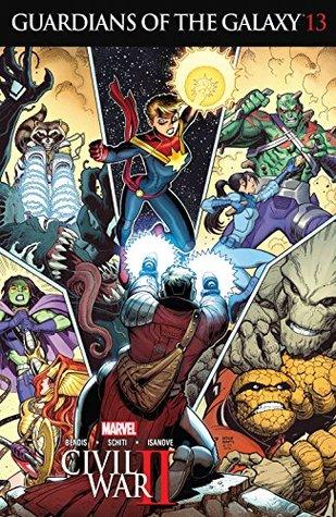 Guardians of the Galaxy (2015-2017) #13 by Brian Michael Bendis, Valerio Schiti, Arthur Adams