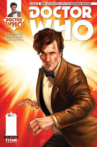 Doctor Who: The Eleventh Doctor #3 by Rob Williams, Simon Fraser