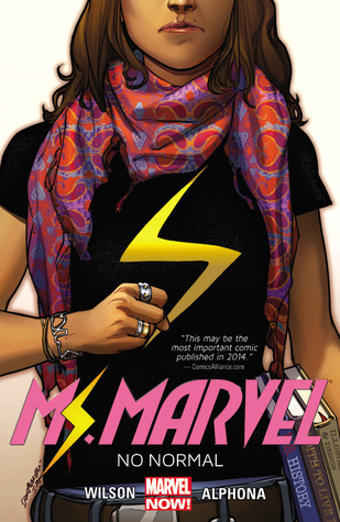 Ms. Marvel, Vol. 1: No Normal (Ms. Marvel (2014-15) by Adrian Alphona, G. Willow Wilson