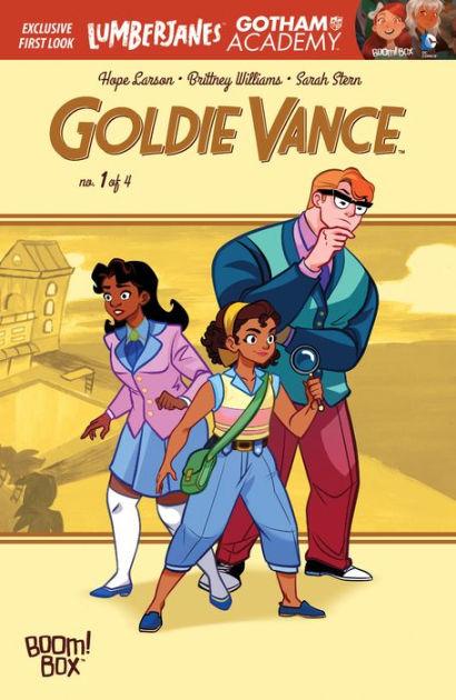 Goldie Vance #1 by Hope Larson, Brittney Williams