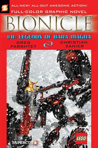 Bionicle, Vol. 8: Legends of Bara Magna by Greg Farshtey, Stuart Sayer, Christian Zanier