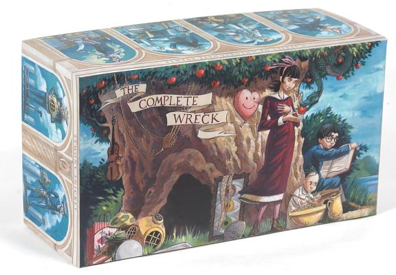 A Series of Unfortunate Events Box: The Complete Wreck by Lemony Snicket