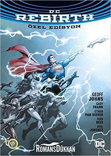 DC Rebirth Özel Edisyon by Bengü Ergil, Geoff Johns