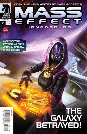 Mass Effect Homeworlds #2 by Patrick Weekes, Mac Walters, Jeremy Barlow, Chris Staggs