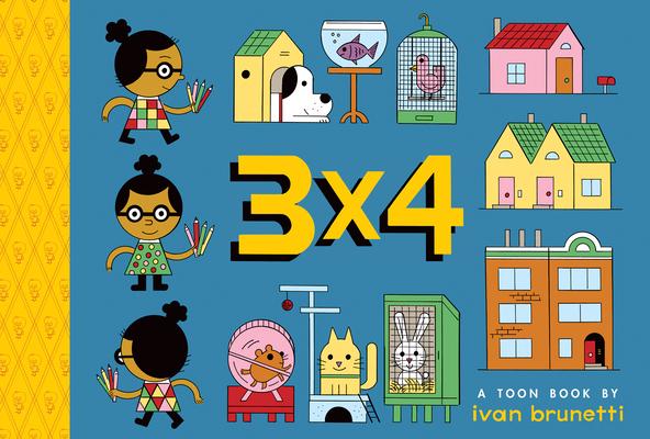 3x4: Toon Level 1 by Ivan Brunetti