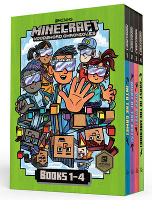 Minecraft Woodsword Chronicles Box Set Books 1-4 (Minecraft) by Nick Eliopulos
