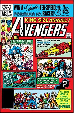 Avengers (1963-1996) Annual #10 by Michael Golden, Chris Claremont
