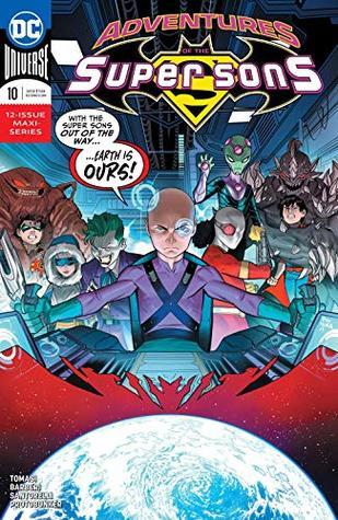 Adventures of the Super Sons (2018-) #10 by Dan Mora, Carlo Barberi, Peter J. Tomasi, Matt Santorelli, Protobúnker