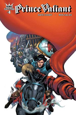 King: Prince Valiant #4 by Ron Salas, Nate Cosby, Jonathan Lau