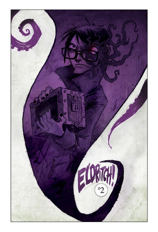 A Hiss from the Cradle (Eldritch!, #2) by Aaron Alexovich, Drew Rausch