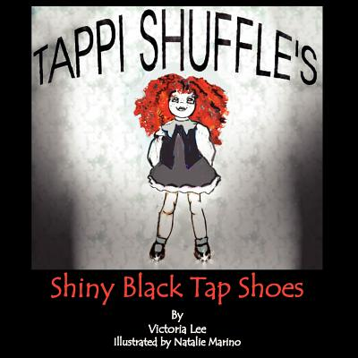 Tappi Shuffle's Shiny Black Tap Shoes by Victoria Lee
