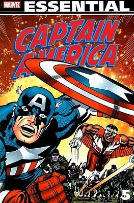 Essential Captain America, Vol. 5 by Tony Isabella, John David Warner, Marv Wolfman, Frank Robbins, Jack Kirby, Bill Mantlo