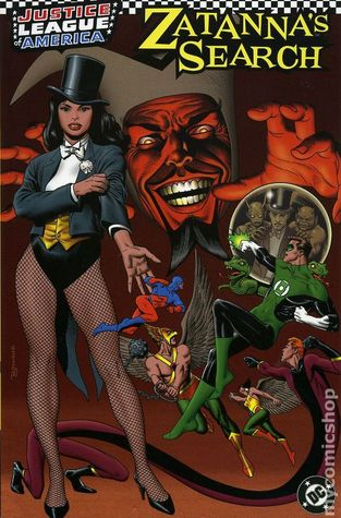 JLA: Zatanna's Search by Mike Sekowsky, Carmine Infantino, Gil Kane, Gerry Conway, Romeo Tanghal, Gardner F. Fox, Murphy Anderson, Steven Utley