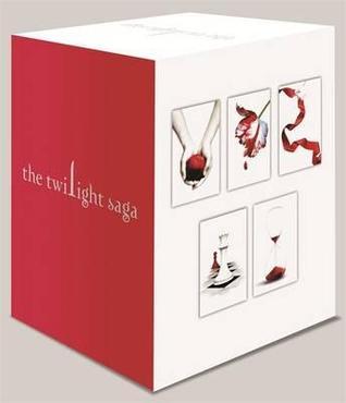 Twilight Saga 5 Book Set White Cover by Stephenie Meyer