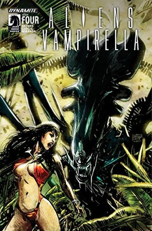 Aliens/Vampirella #4: Digital Exclusive Edition by Javier Garcia-Miranda, Corinna Sara Bechko