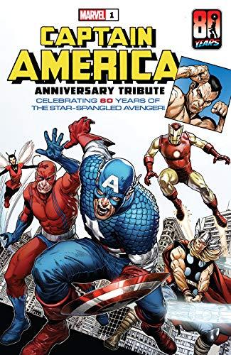 Captain America Anniversary Tribute (2021) #1 by Joe Simon, Steve McNiven, Stan Lee, Jack Kirby
