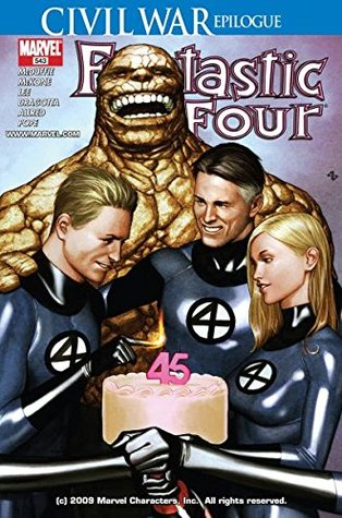 Fantastic Four #543 by Dwayne McDuffie, Paul Pope, Mike Allred, Mike McKone, Nick Dragotta, Paul Mounts, Jim Calafiore, Andy Lanning, Laura Allred, Cam Smith, Stan Lee