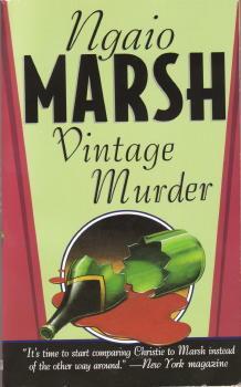 Vintage Murder by Ngaio Marsh
