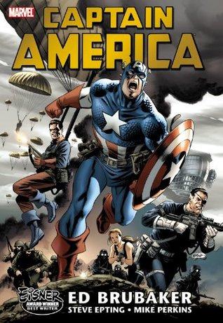 Captain America by Ed Brubaker Omnibus, Vol. 1 by Steve Epting, Mike Perkins, Ed Brubaker, Michael Lark