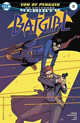 Batgirl #10 by Hope Larson, Mat Lopes, Chris Wildgoose, Jon Lam