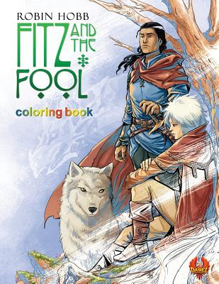 Fitz and The Fool: Coloring Book by Robin Hobb