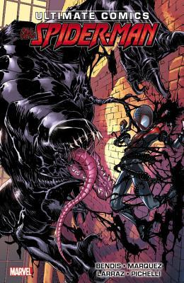 Miles Morales: Ultimate Spider-Man: Ultimate Collection, Book 2 by David Marquez, Pepe Larraz, Brian Michael Bendis, VC's Cory Petit, Justin Ponsor, Sara Pichelli