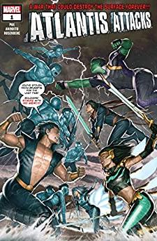 Atlantis Attacks #1 by Greg Pak, Rock-He Kim