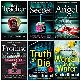 DS Imogen Grey Series 4 Books Collection Set by Katerina Diamond by Katerina Diamond, The Teacher by Katerina Diamond