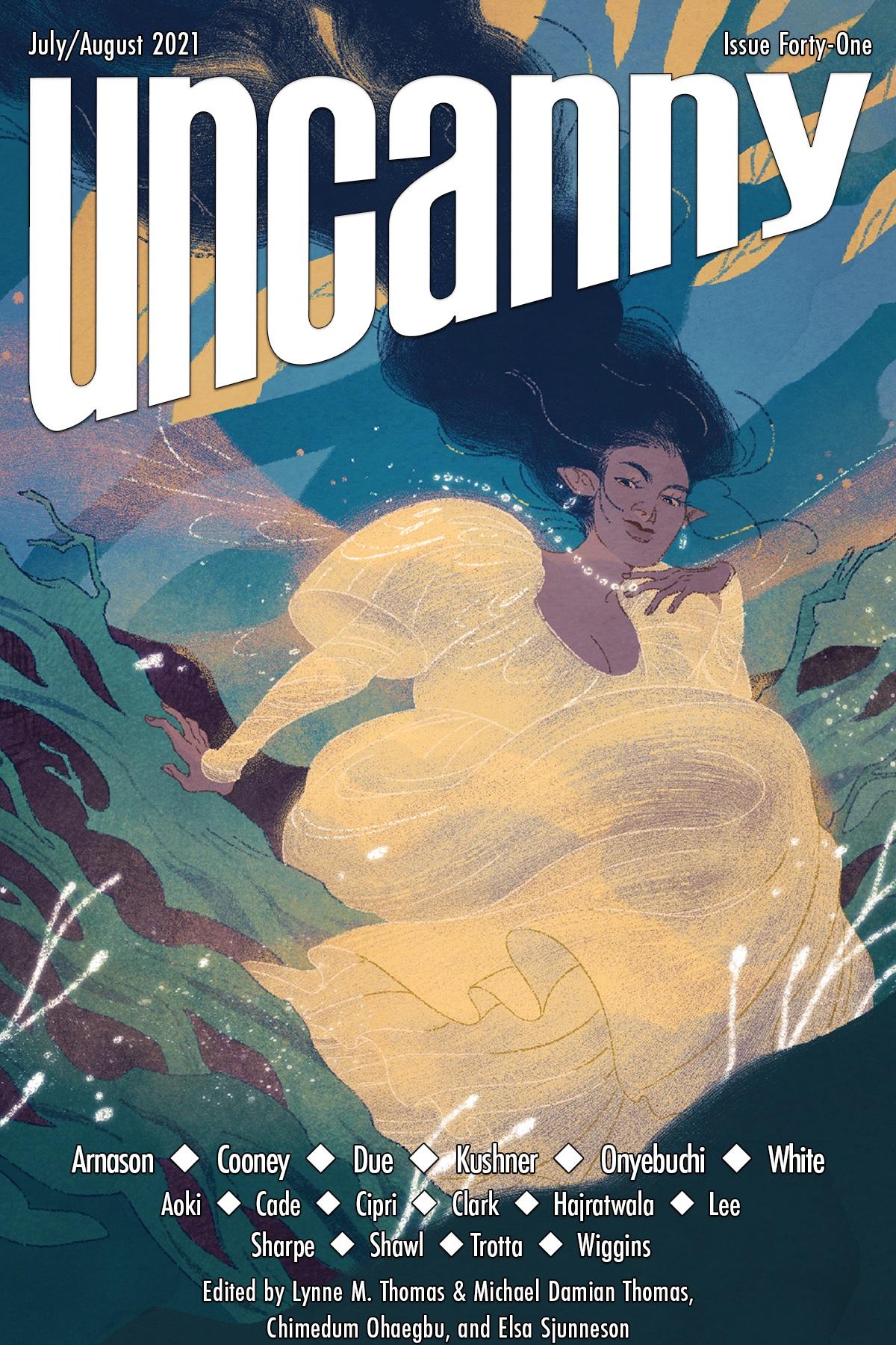 Uncanny Magazine Issue 41: July/August 2021 by Chimedum Ohaegbu, Elsa Sjunneson, Michael Damian Thomas, Lynne M. Thomas