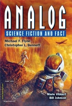 Analog Science Fiction and Fact, June 2016 by Michael Flynn, Marie Vibbert, J.T. Sharrah, C.S. Lane, Jay Werkheiser, Trevor Quachri, Christopher L. Bennett, Bill Johnson