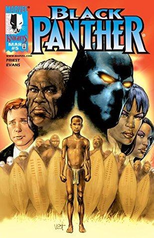 Black Panther #5 by Vince Evans, Christopher J. Priest