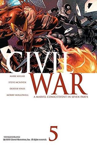 Civil War #5 by Steve McNiven, Mark Millar