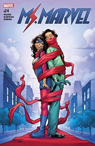 Ms. Marvel (2015-2019) #24 by Diego Olortegui, G. Willow Wilson, Valerio Schiti