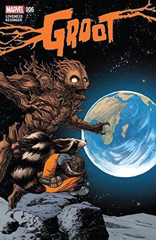 Groot #6 by Brian Kesinger, Jeff Loveness, Declan Shalvey