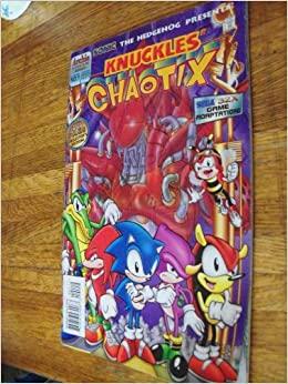 Knuckles' Chaotix by Mike Kanterovich, Scott Fulop, Jon D'Agostino, Ken Penders, Rich Koslowski, Art Mawhinney, Harvey Mercadoocasio
