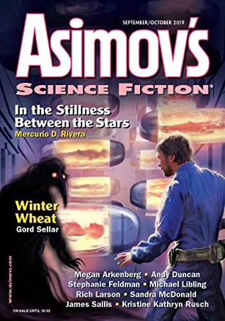 Asimov's Science Fiction September/October 2019 by Mercurio D. Rivera, Sheila Williams, Gord Sellar, Kristine Kathryn Rusch, James Sallis, Rich Larson
