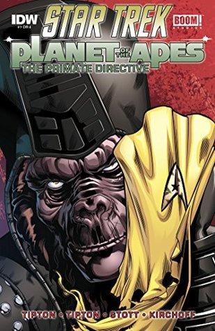 Star Trek / Planet of the Apes #1 (of 5) by Rachael Stott, Juan Ortiz, Scott Tipton, David Tipton
