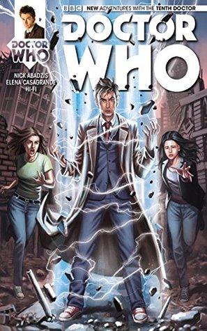 Doctor Who: The Tenth Doctor #13 by Simone Di Meo, Hi Fi, Nick Abadzis, Elena Casagrande