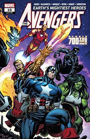Avengers (2018-) #10 by David Marquez, Adam Kubert, Jason Aaron, Ed McGuinness, Andrea Sorrentino