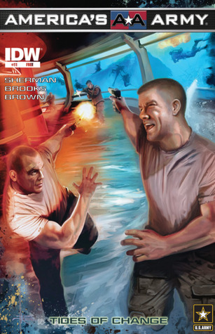 America's Army #11: Tides of Change by Brian Rood, Marshall Dillon, M. Zachary Sherman, Scott R. Brooks, J. Brown