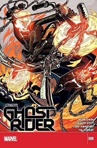 All-New Ghost Rider #8 by Damion Scott, Felipe Smith