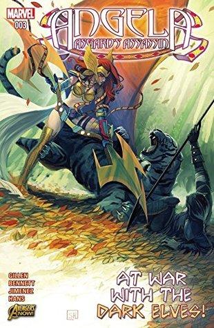 Angela: Asgard's Assassin #3 by Marguerite Bennett, Stephanie Hans, Kieron Gillen, Phil Jimenez