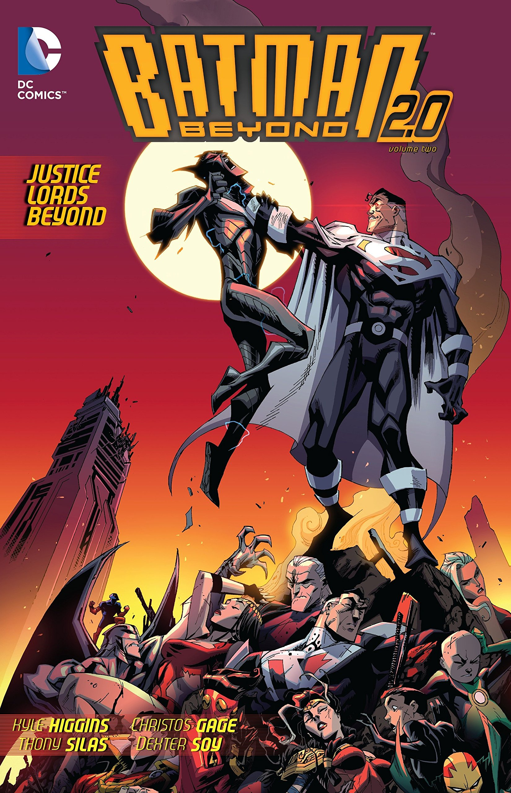 Batman Beyond 2.0, Vol. 2: Justice Lords Beyond by Kyle Higgins, Christos Gage, Thony Silas