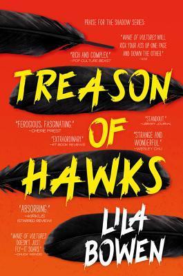 Treason of Hawks by Lila Bowen