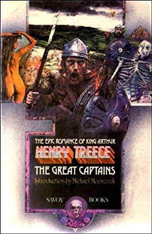 The Great Captains by Michael Moorcock, Henry Treece, James Cawthorn