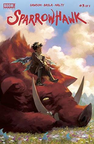 Sparrowhawk #3 by Rebecca Nalty, Delilah S. Dawson, Matias Basla, Lee Garbett