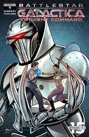 Battlestar Galactica: Twilight Command #3 by Breno Tamura, Michael Moreci